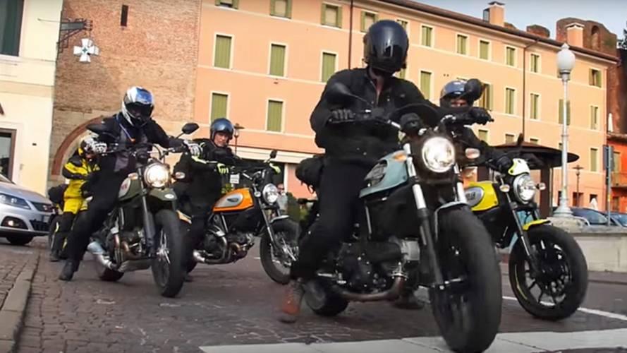 Video of the Day: MotoGeo Scrambling Around Italy