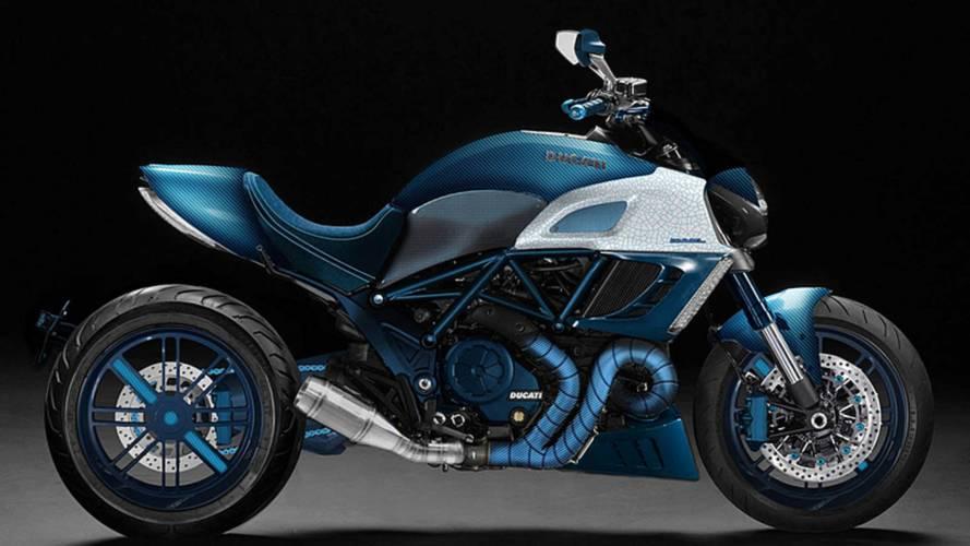Garage Italia Unveils Custom Ducati Diavel