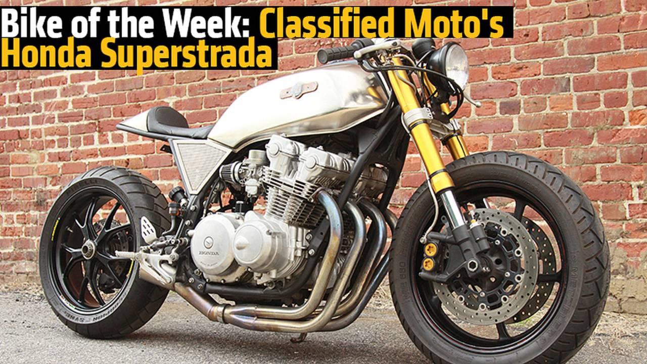 Bike of the Week: Classified Moto's Honda Superstrada