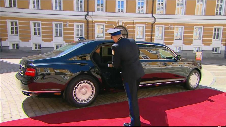 Aurus Senat, la nueva limunsina de Vladimir Putin