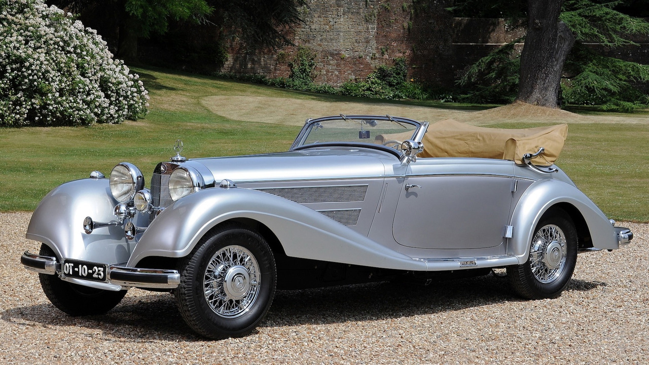 4. Mercedes-Benz 540 K Cabriolet A, 1937