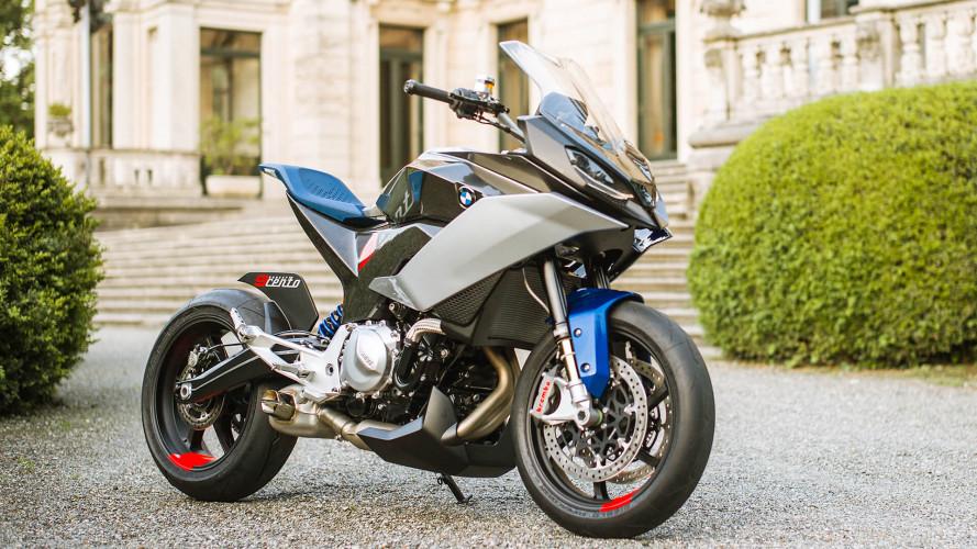 Motorradstudie BMW Concept 9cento