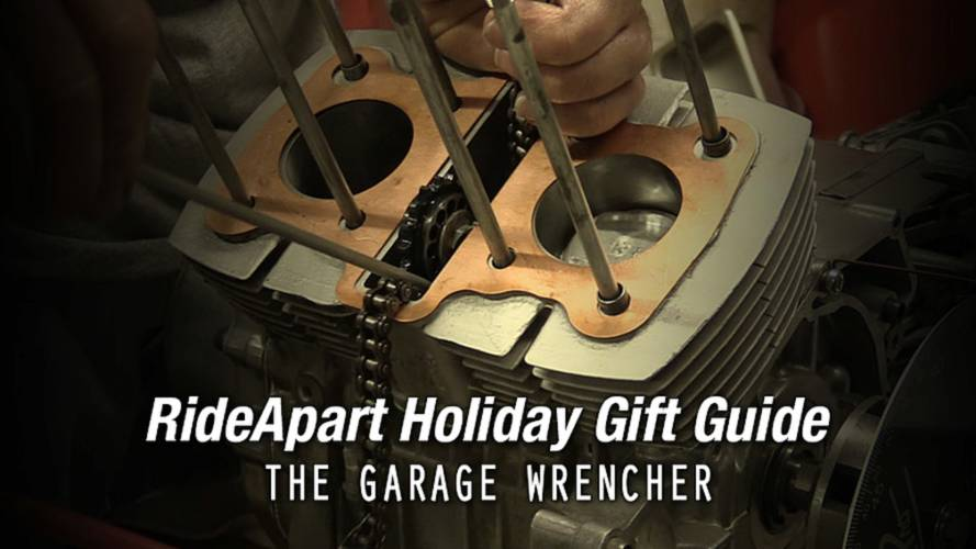 For Your Garage Wrencher - RideApart Holiday Gift Guide