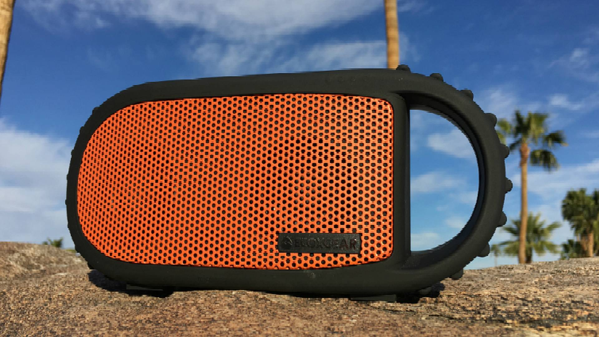 Floats ECOXGEAR ECOCARBON IPx68 Rated Waterproof Wireless Bluetooth Speaker