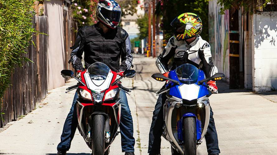 Superbike of the Year: Yamaha YZF-R1 vs Aprilia RSV4