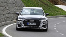 New Audi RS6 Avant Spy Photos