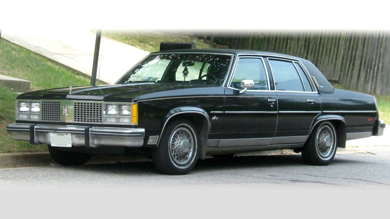Oldsmobile Ninety-Eight Diesel (1978)
