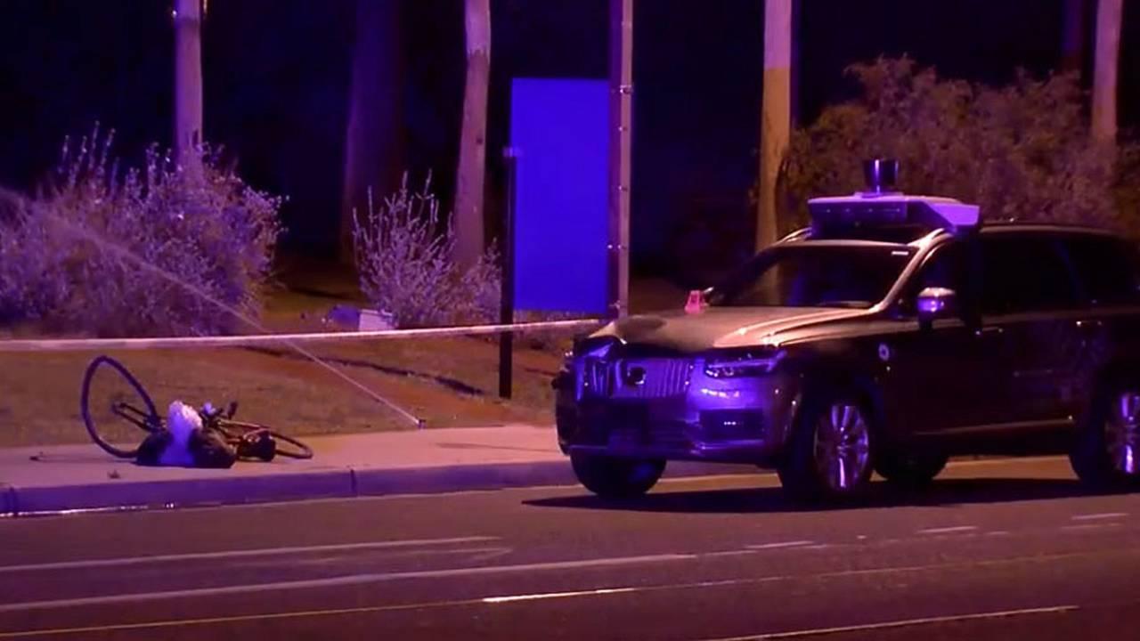 Uber Ölümlü Volvo XC90 Kazası