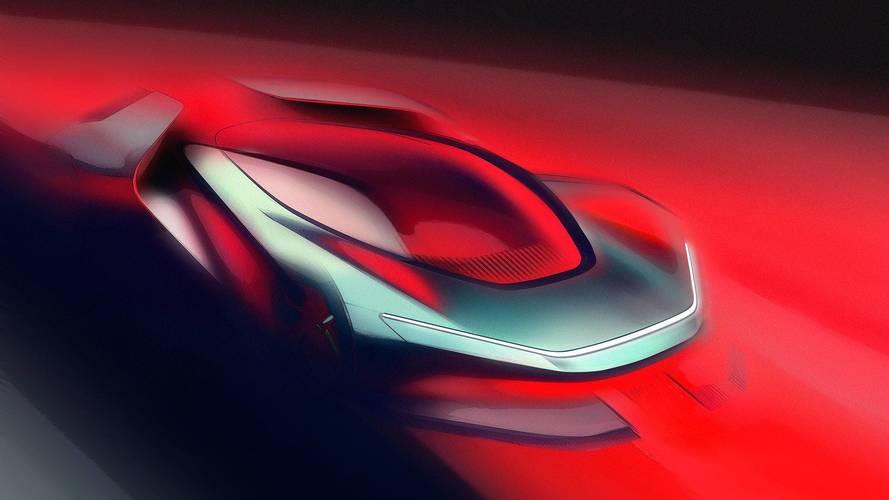 Automobili Pininfarina PF0, primi disegni dell'elettrica da 400 km/h