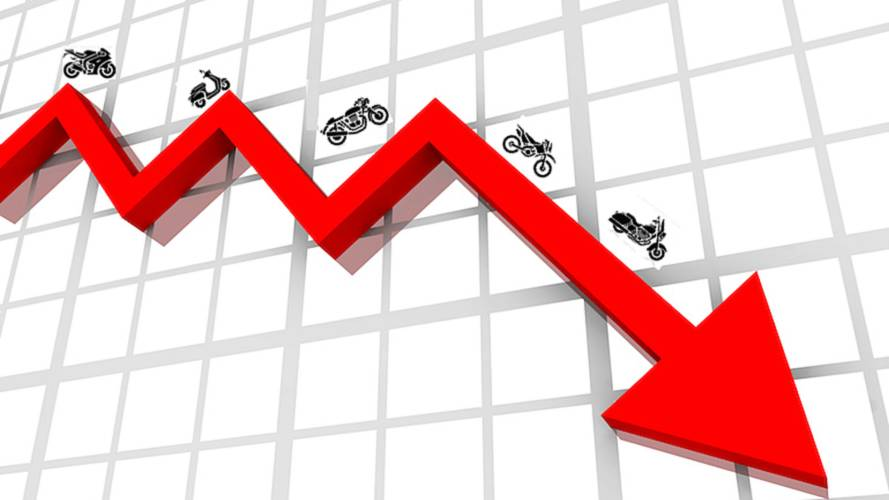 UK Motorcycles Sales Down in 2017