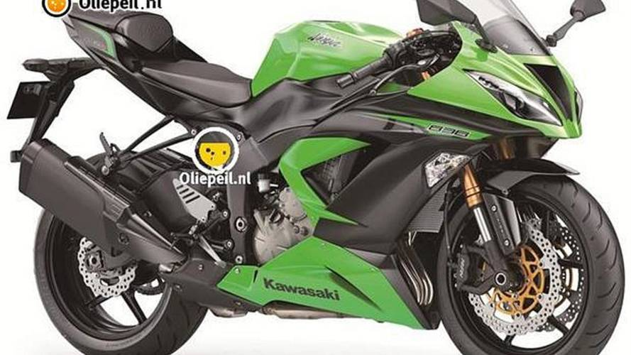2013 Kawasaki ZX-6R: first official image, TC?