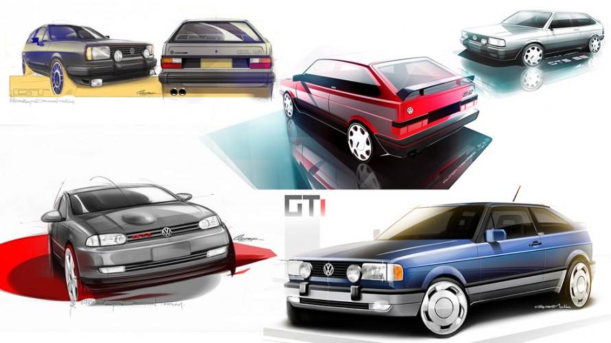 Galeria especial: relembre as gerações do VW Gol em sketches