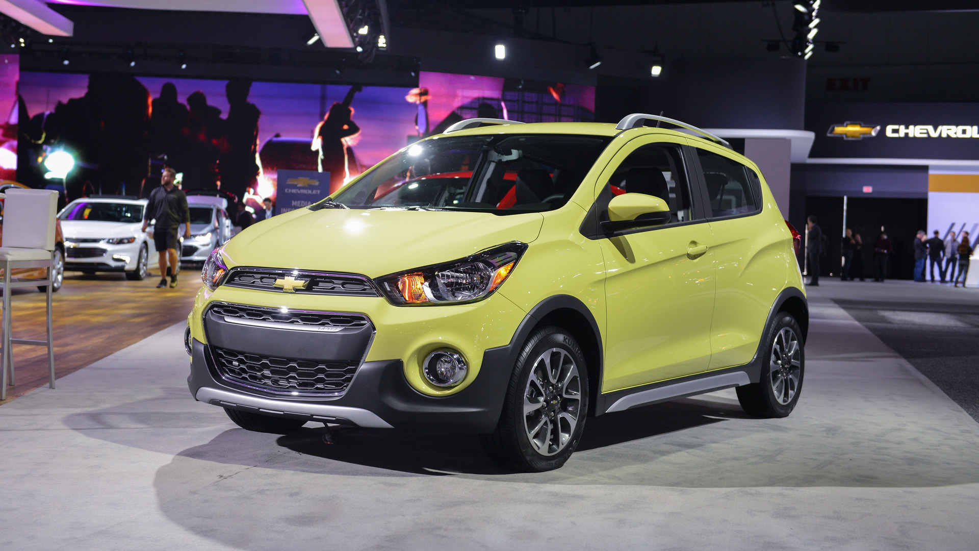 Jacked Up Chevy Spark >> Chevy Spark Activ Is The Smallest Crossover In L A