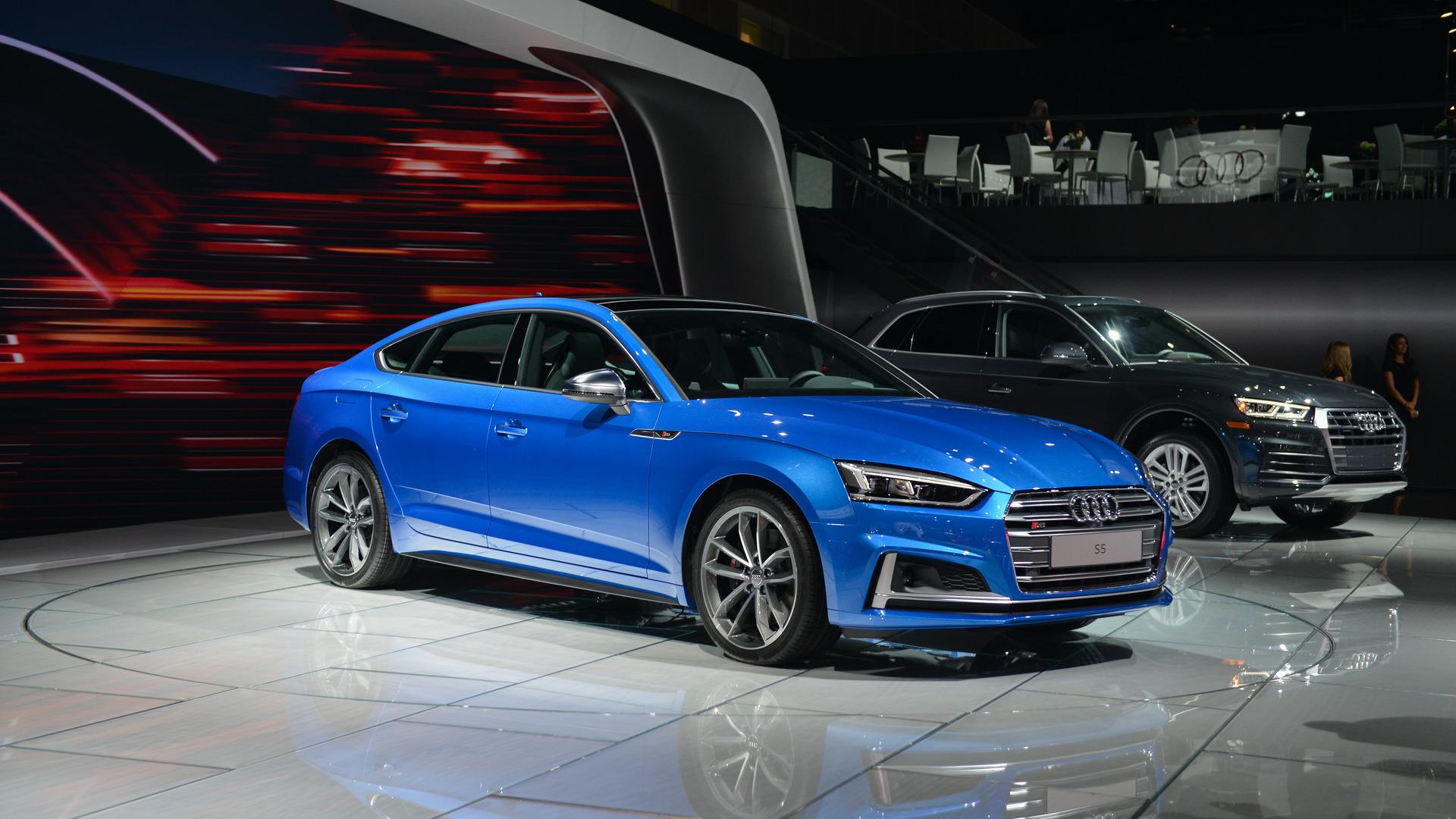 2018 Audi S5 Sportback Debuts In L A Ahead Of U S Launch