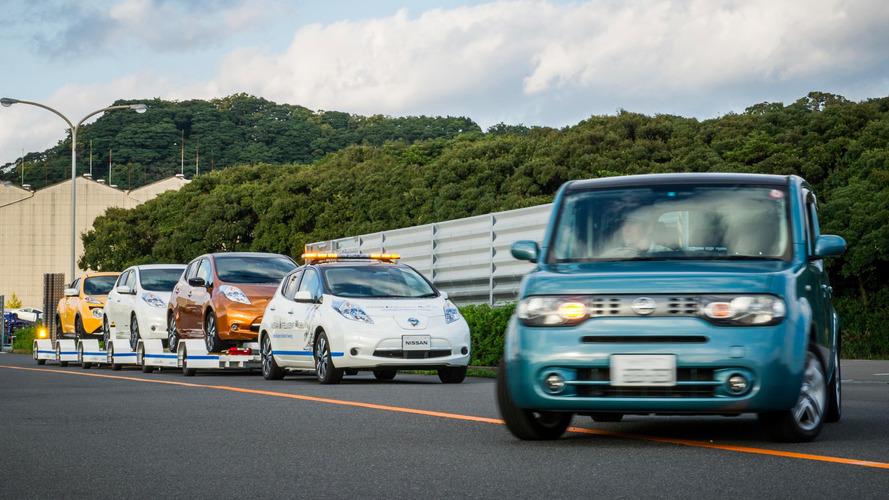 VIDÉO - Chez Nissan la conduite autonome rime aussi avec… remorque !