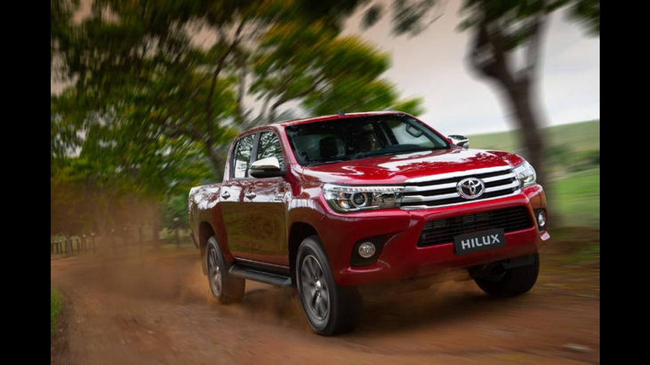 Recém-lançada no Brasil, nova Hilux lidera vendas na Austrália em outubro