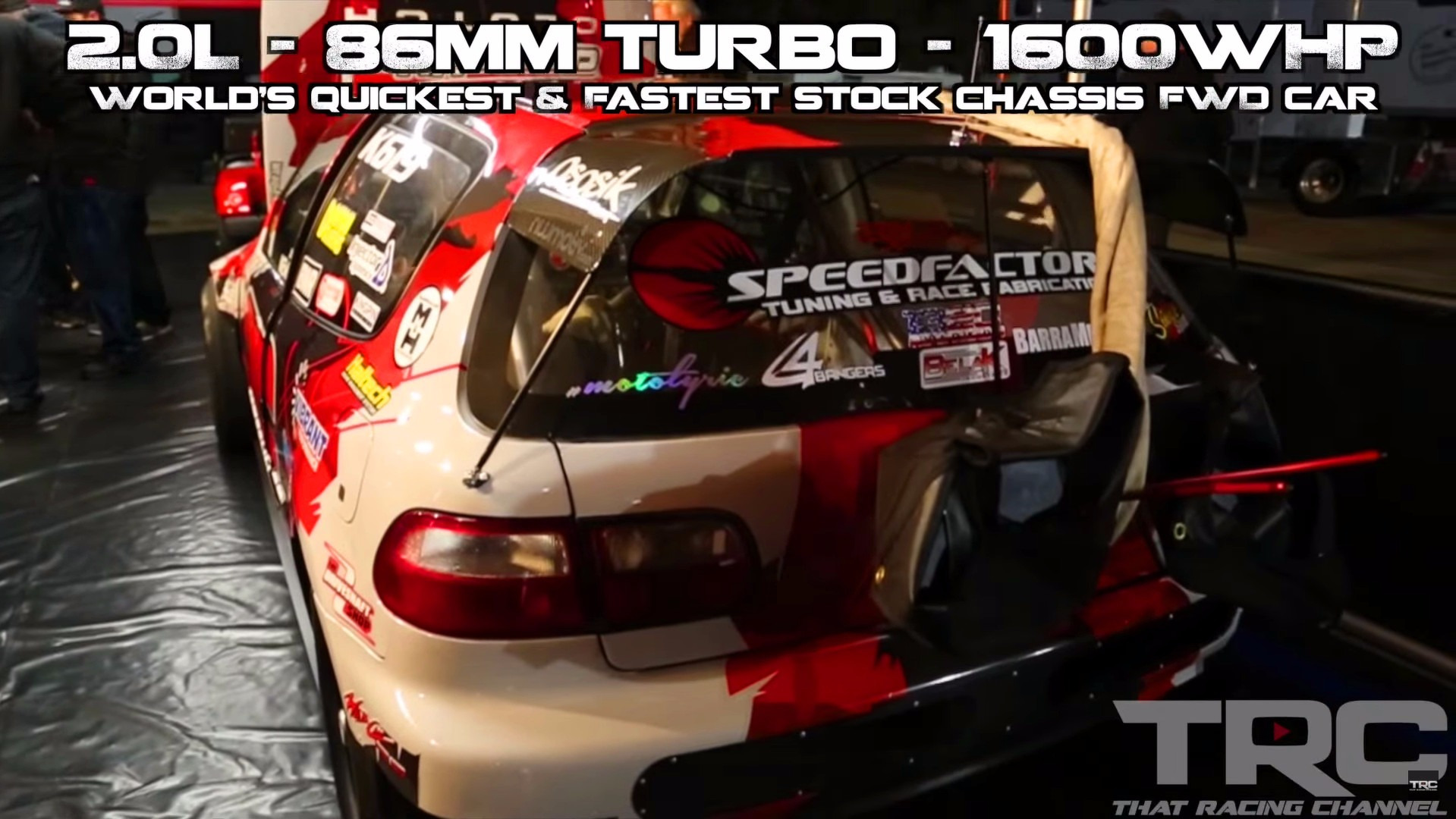 1,850 hp Honda Civic sets FWD quarter-mile record
