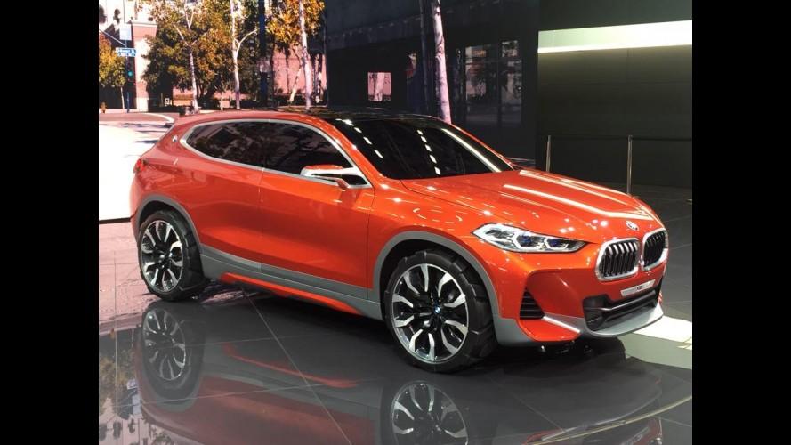 Paris: BMW X2 Concept antecipa SUV compacto de luxo rival do Audi Q2
