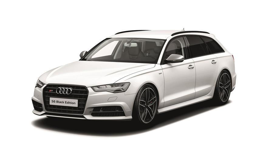 Audi Black Edition A3, S3, TT, S6, ve S7