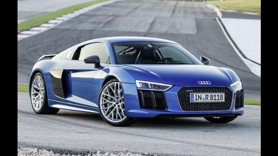 Audi R8 pode receber inédito motor turbo em breve