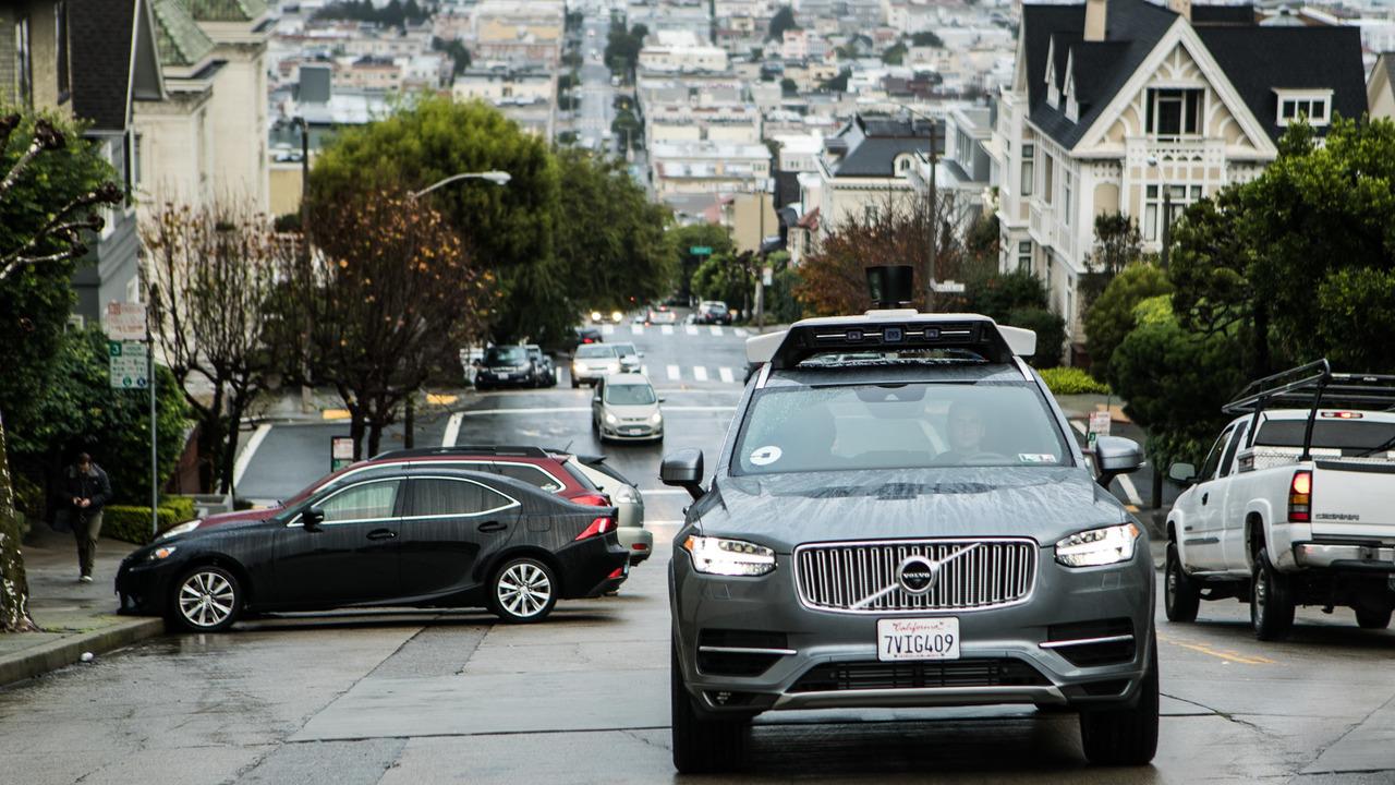 Volvo XC90 & Uber
