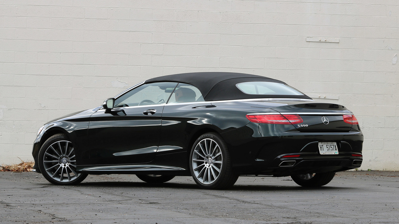 2017 Mercedes Benz S550 Cabriolet Review