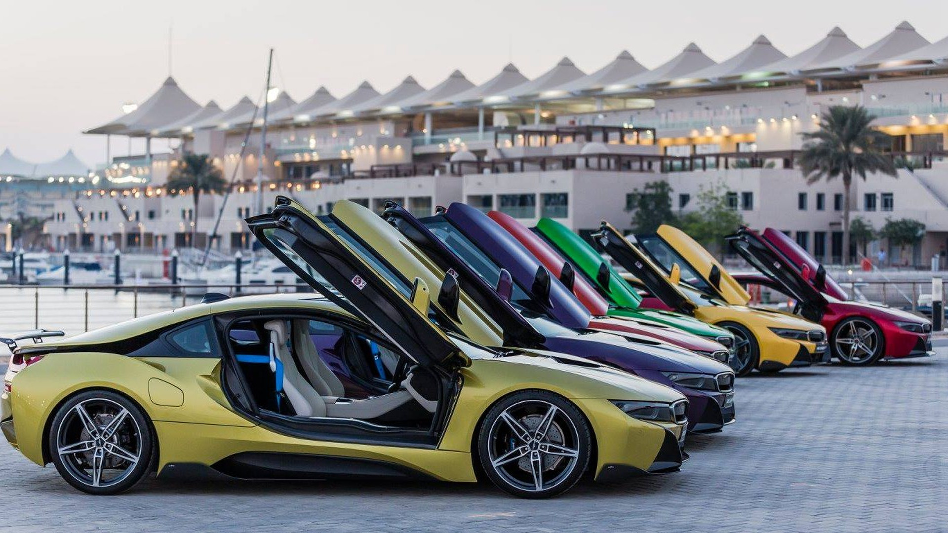 Colorful Bmw I8s Return In Extensive Gallery 67 Photos