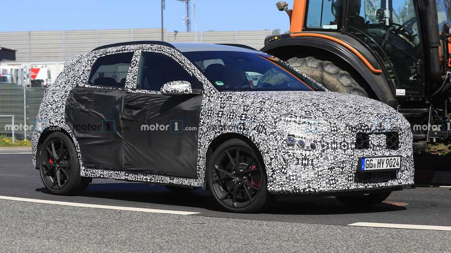 Hyundai Kona N Spied With A Little Less Camouflage