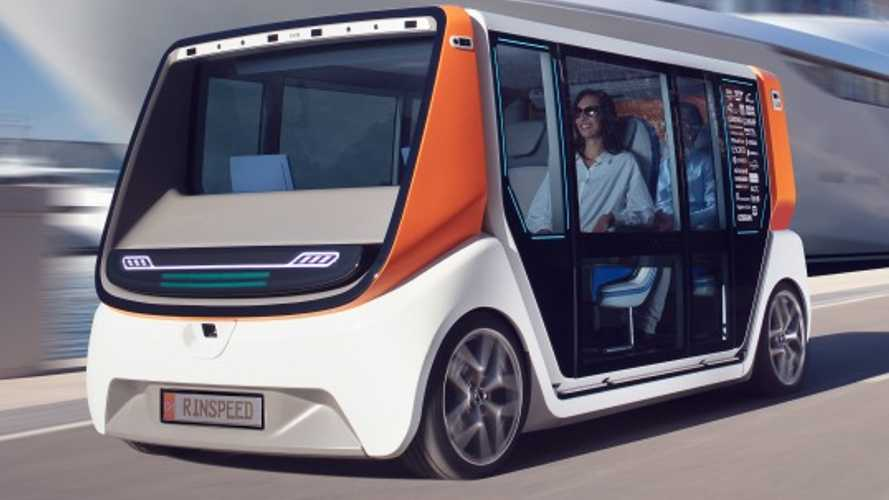 Rinspeed Metrosnap autonomous vehicle concept readies for CES debut