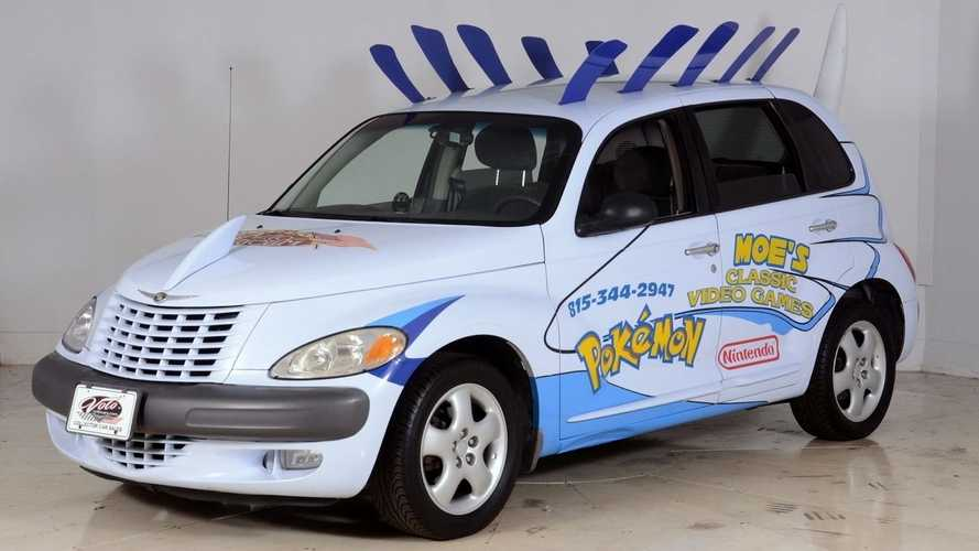 Funky Chrysler PT Cruiser Pokemon Promotional Car Can Be Yours