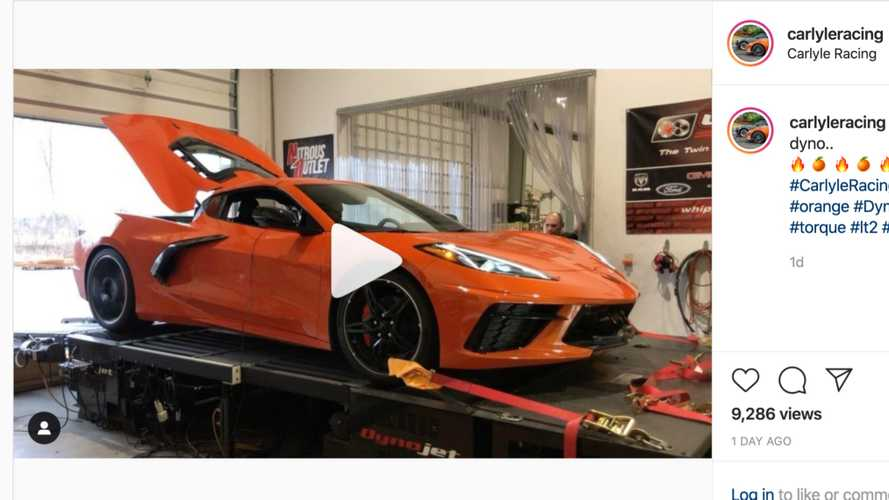 2020 Corvette C8 Customer Car Hits The Dyno: 440 HP And 408 LB-FT