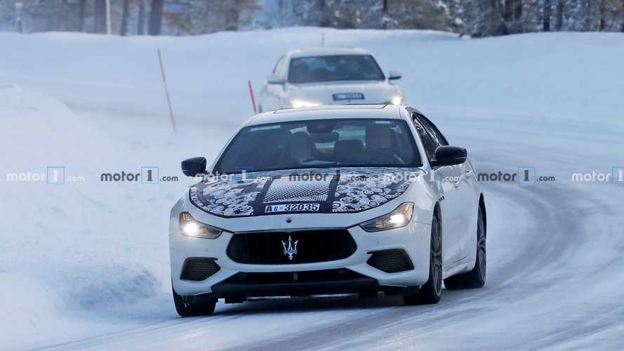 Maserati Ghibli Facelift Spy Photos