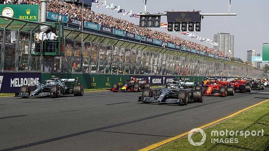 Los horarios del estreno de la Fórmula 1 2020 en Australia