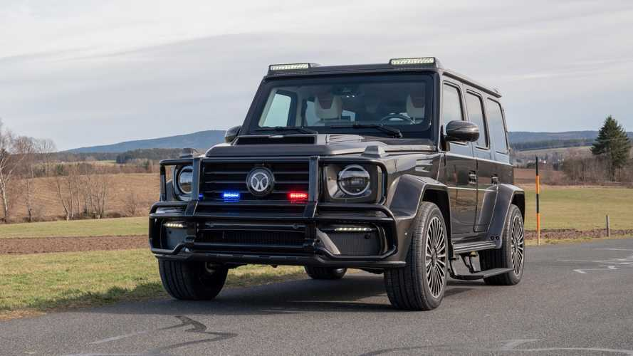 Mansory Built An Armored 800 HP AMG G63 Because Of Course They Did