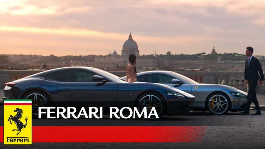 Watch Ferrari Roma turn heads in this official video