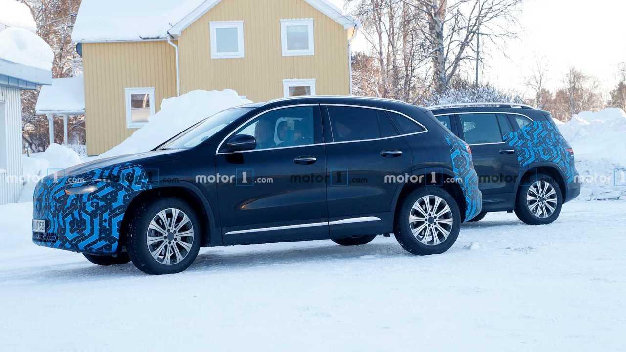 Photo espion Mercedes-Benz EQA et EQB