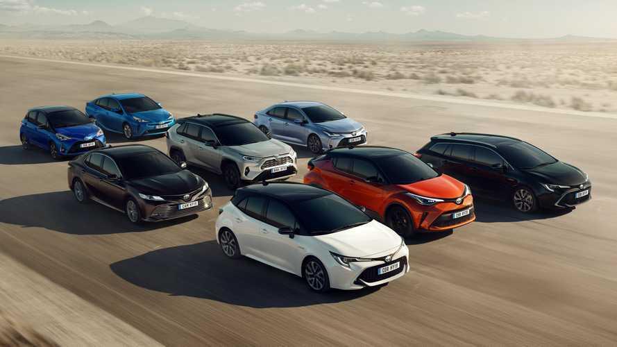 Toyota y el origen del nombre de los modelos de su gama
