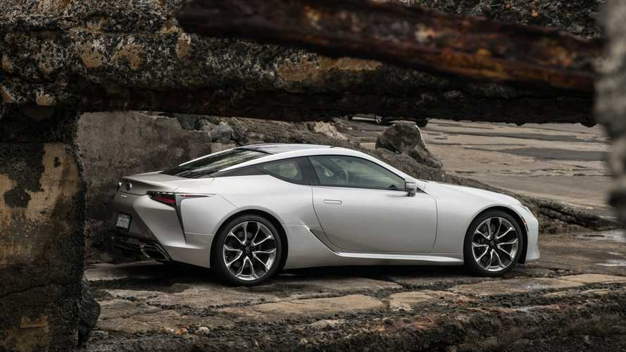 Обновленный Lexus LC 2021 модельного года