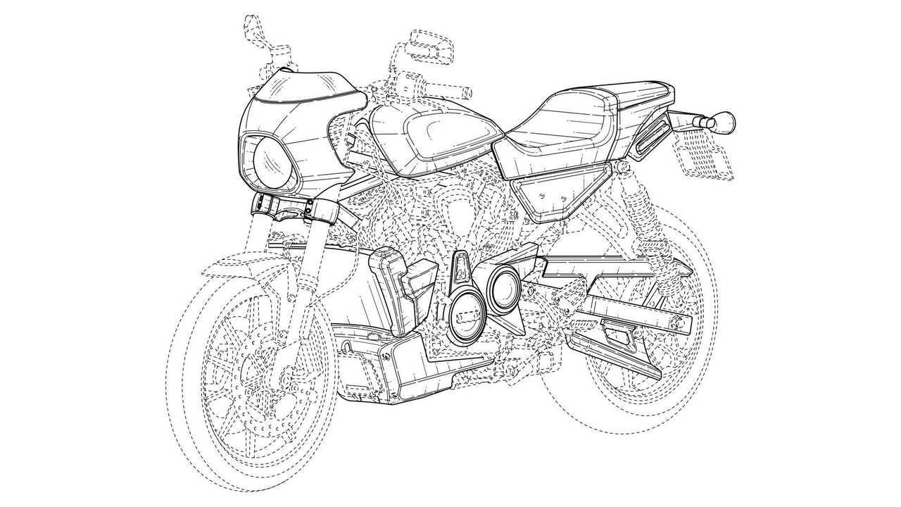Harley-Davidson Café Racer Design Trademark