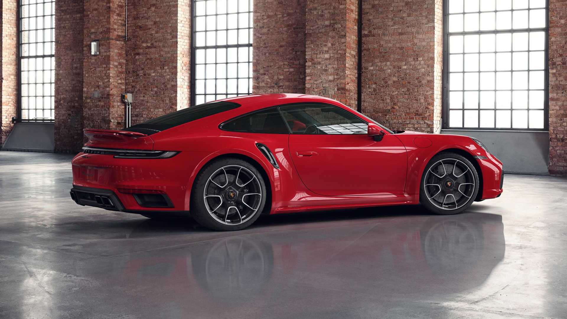 Porsche Exclusive Shows Off Customized 911 Turbo S In Guards Red