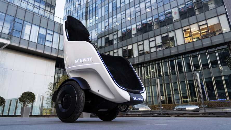 "Segway Almost Reached ""Cool"" Status, Then Launched The S-Pod"