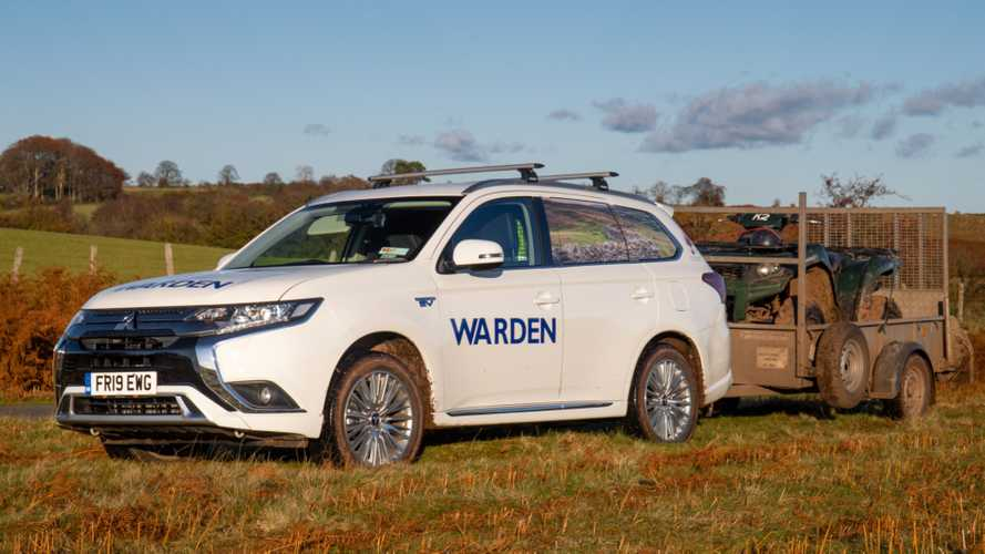 Brecon Beacons National Park goes green with plug-in hybrid Mitsubishi