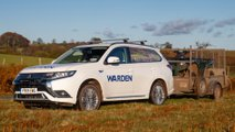 Brecon Beacons Mitsubishi Outlander PHEV