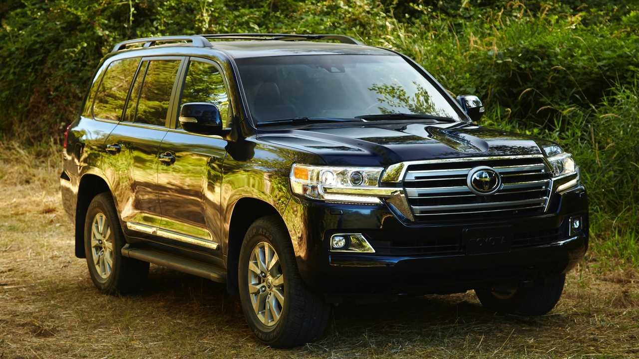 1. Toyota Land Cruiser