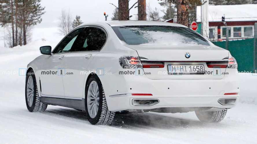 Nova BMW Série 7 - Flagra
