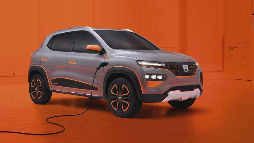 Dacia, ilk elektrikli otomobili Spring Electric'i tanıttı