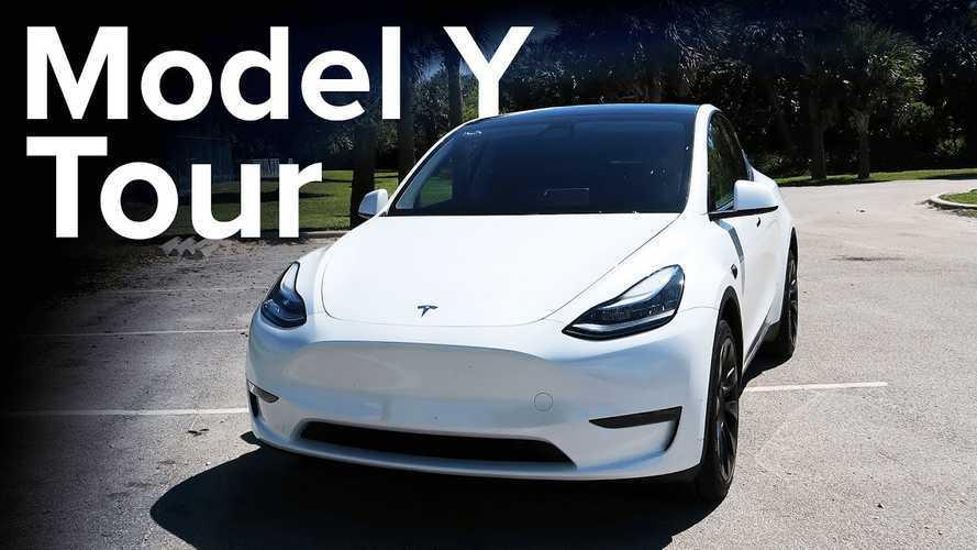 Tesla Model Y: Detailed Walkthrough Of Non-Performance Version