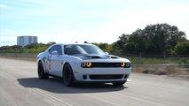 Dodge Challenger Hellcat Redeye Top Speed Run