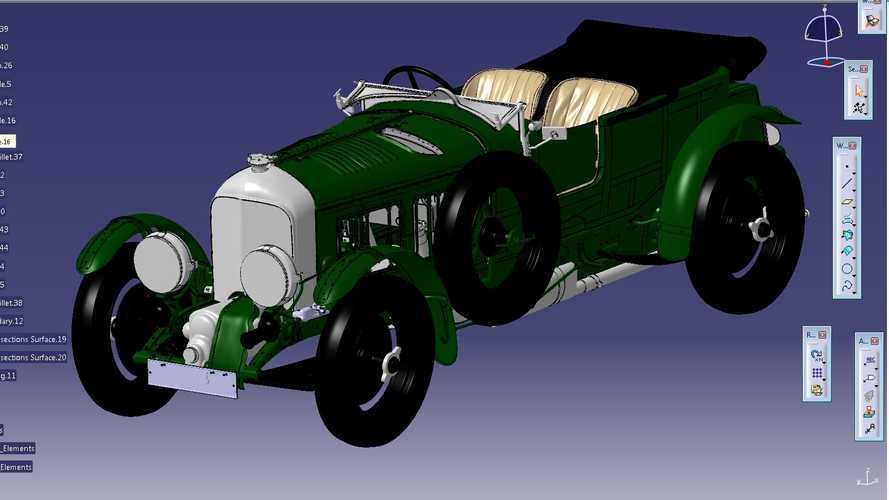Bentley Creates Detailed Blower Digital Model, 12 To Be Produced
