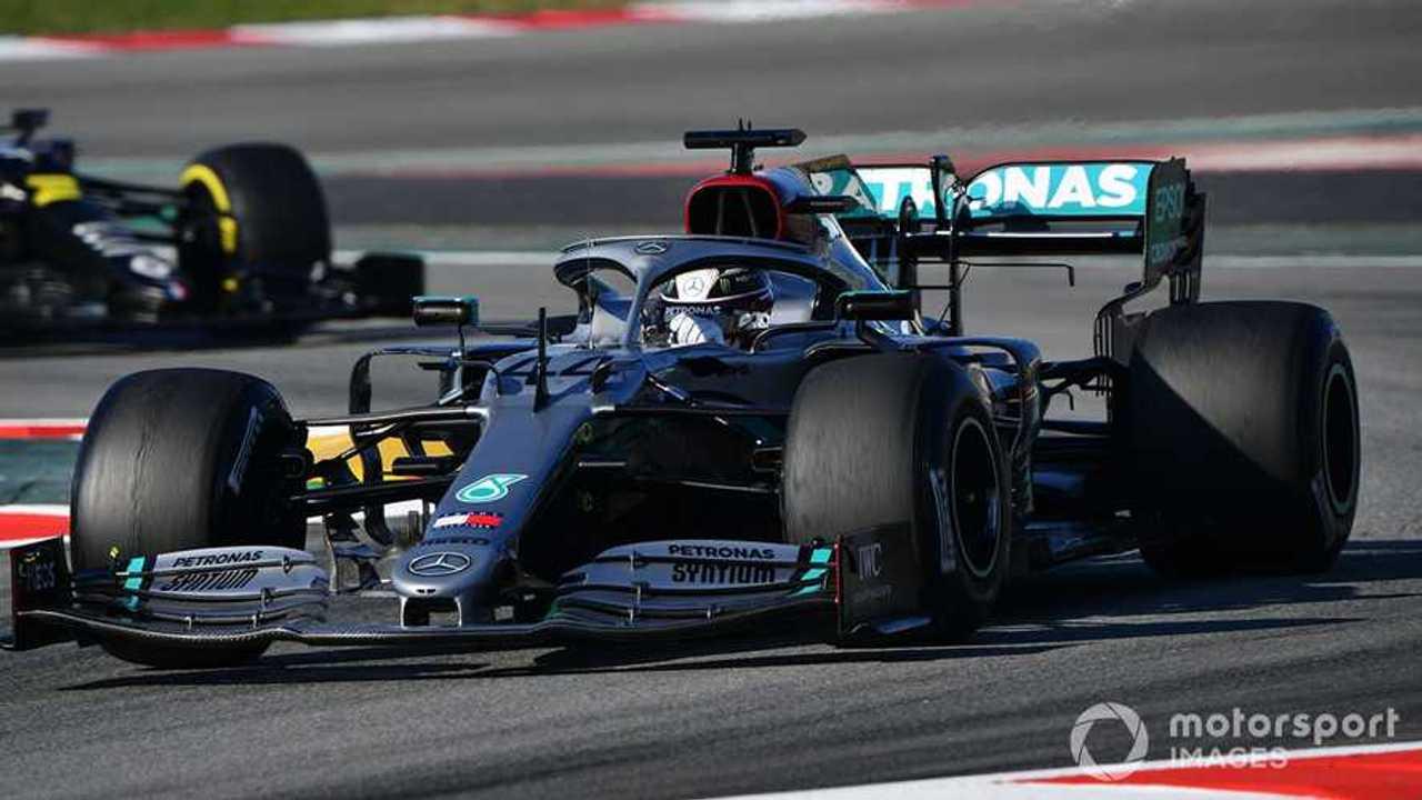 Lewis Hamilton at Barcelona Feb 2020 testing